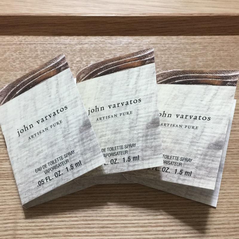 現貨正品John Varvatos 旅行 清新木子調男香 試用裝
