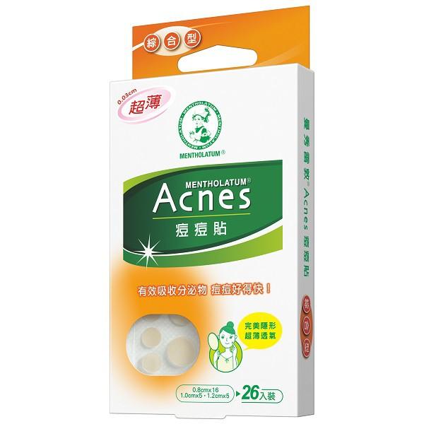 曼秀雷敦Acnes痘痘貼-綜合型 【康是美】