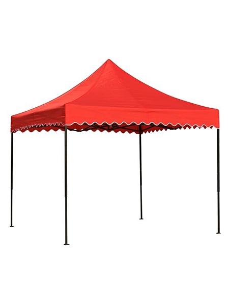 遮阳棚 戶外四角四腳傘帳篷頂布加厚防雨大傘布3X3帳篷布擺攤遮陽雨棚布 瑪麗蘇DF