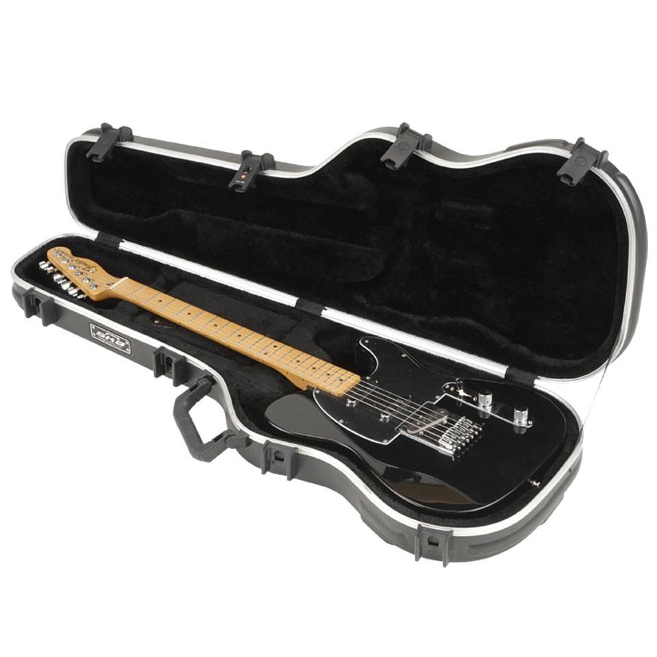 敦煌樂器skb fs6 電吉他硬盒 黑色款