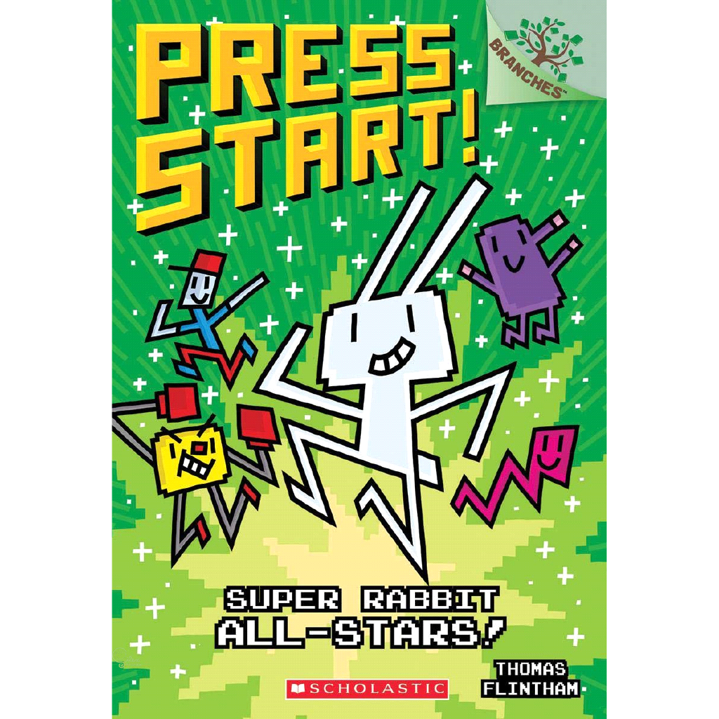 Super Rabbit All-Stars : A Branches Book【禮筑外文書店】[73折]