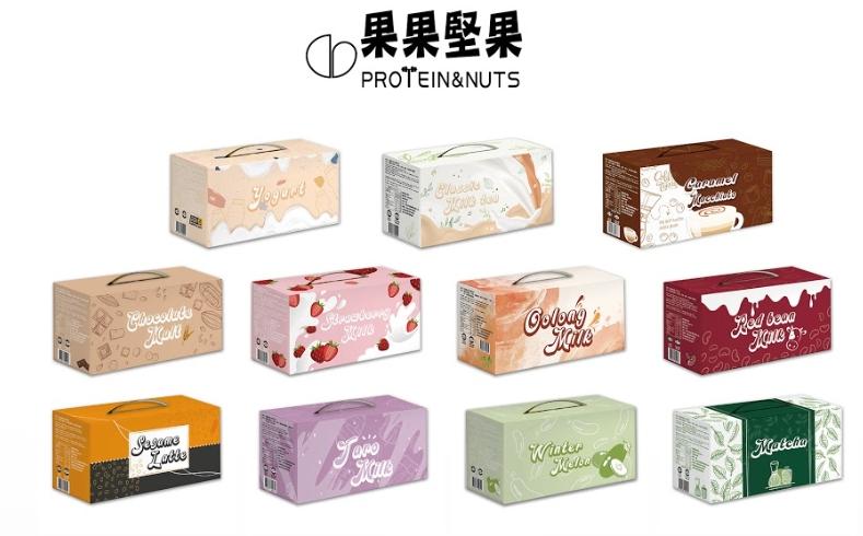 [果果堅果] 乳清蛋白飲 (30包/盒)