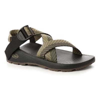 美國Chaco。男 越野舒壓運動涼鞋-寬織帶 標準款CH-ZLM03HG40 (鄉野叢林)