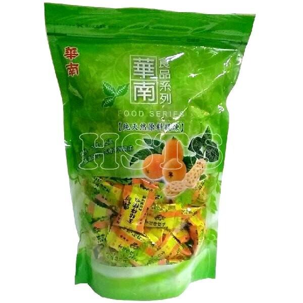 華南本草 羅漢果枇杷潤喉糖 600公克/袋 (金桔檸檬味)