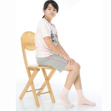 【KEROPPA】可諾帕3~6歲學童專用毛巾底氣墊短襪x4雙(男女適用)C93002-B-淺粉