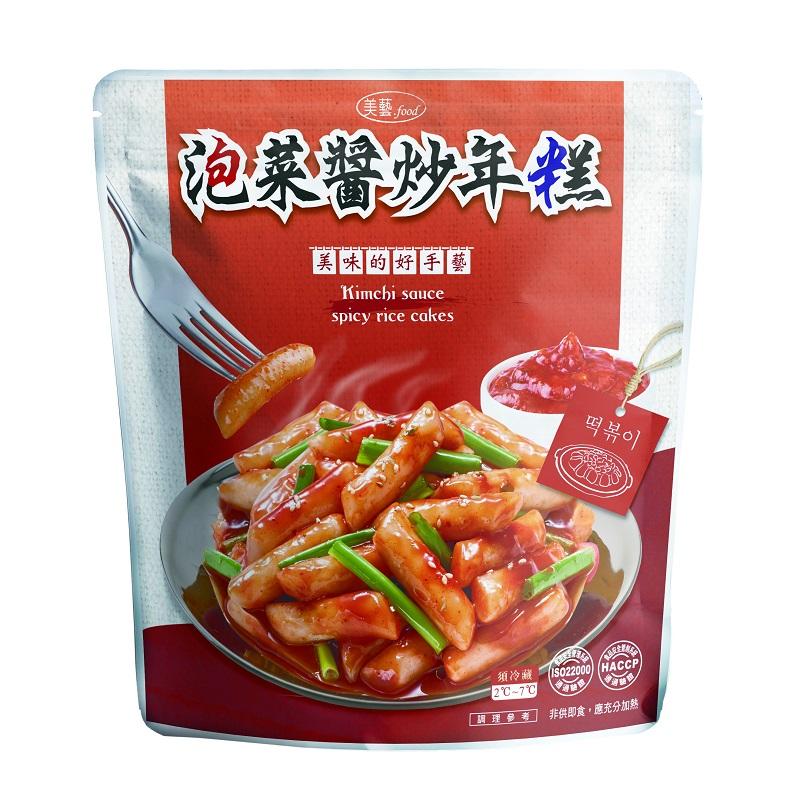 美藝泡菜醬炒年糕-250g