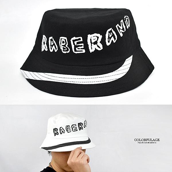 漁夫帽 美式塗鴉英字休閒NHD18