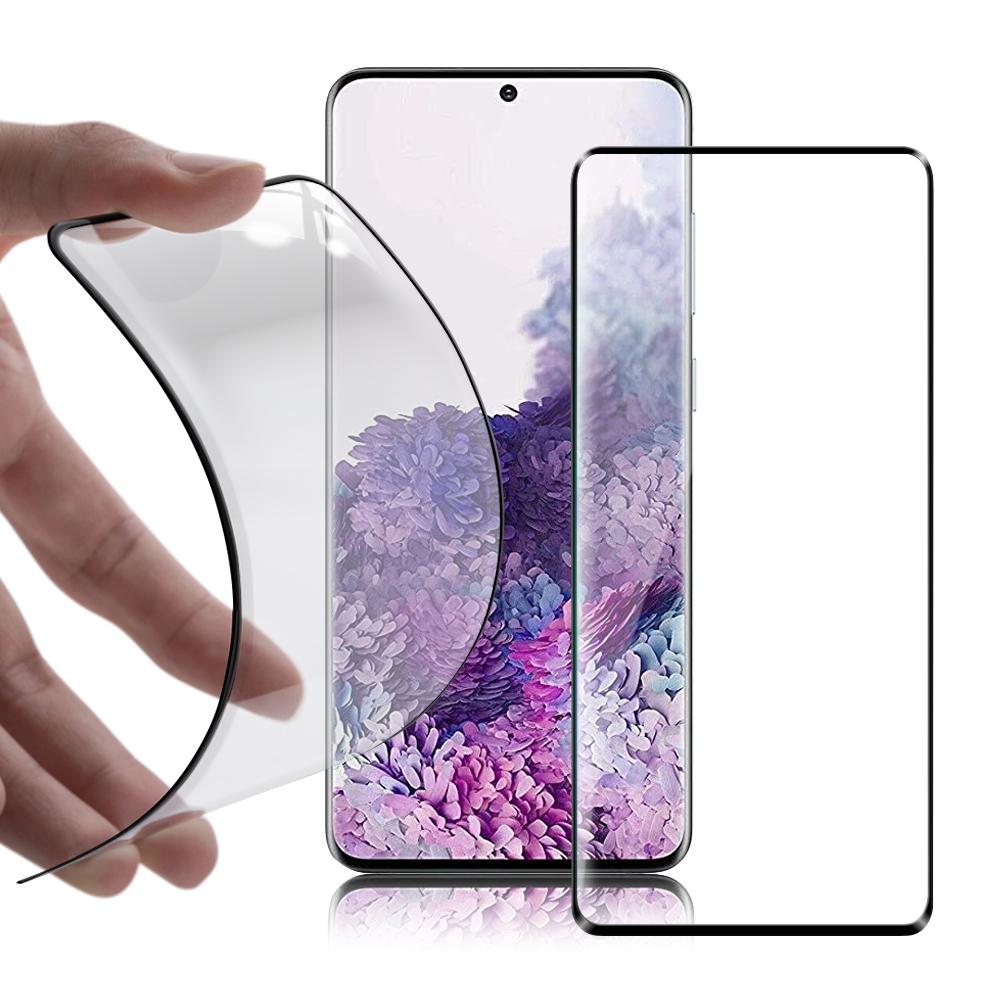 DAPAD for 三星 Samsung Galaxy S20+ 科技複合膜-黑色 附輔助工具