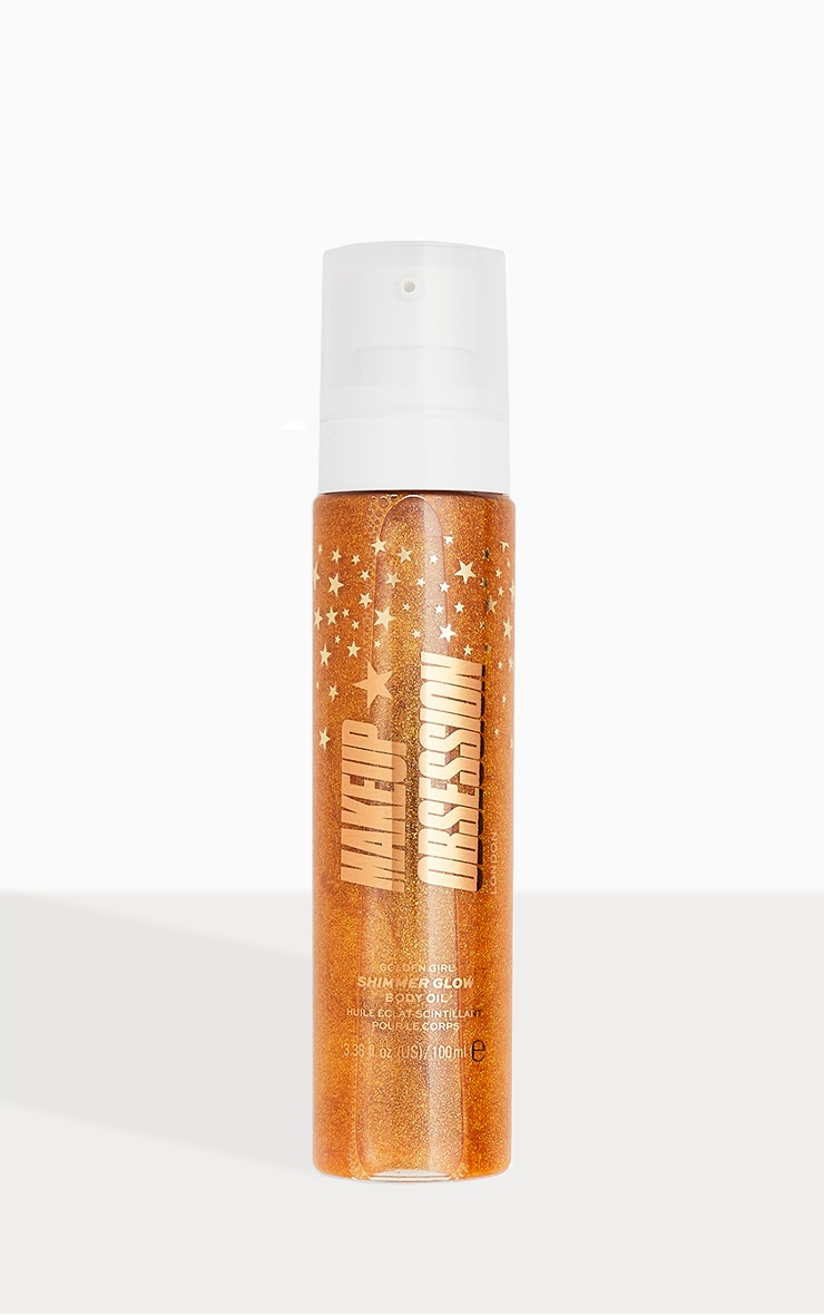 Makeup Obsession Shimmer Glow Body Oil Golden Girl