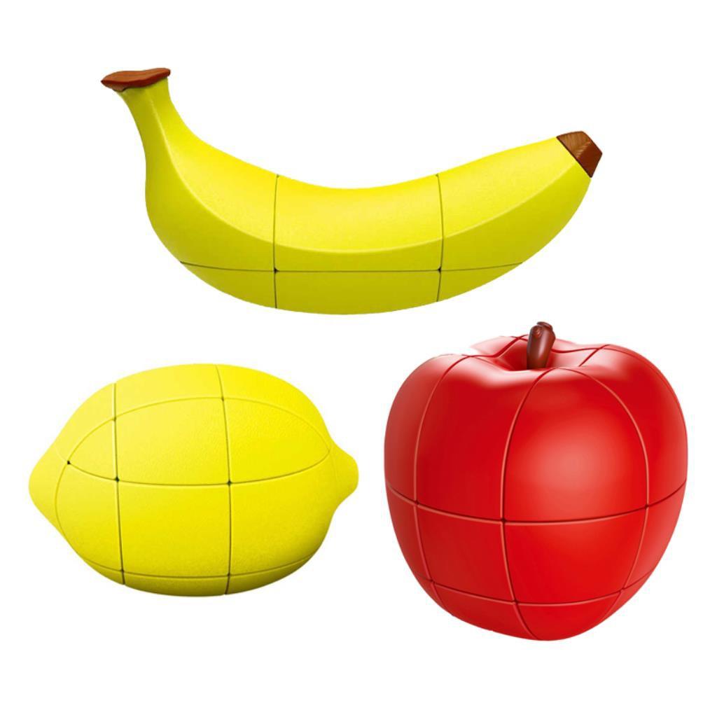 創意水果魔方香蕉檸檬蘋果魔方益智趣味減壓兒童智力玩具六一禮物