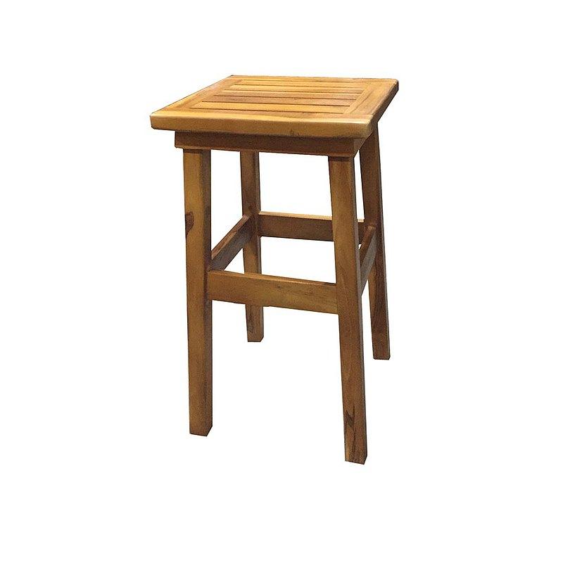吉迪市柚木家具│柚木吧台椅 椅凳 高腳凳 椅子 復古 RPCH001B1