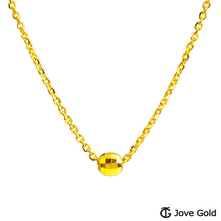 jove gold 漾金飾 生活趣味黃金項鍊