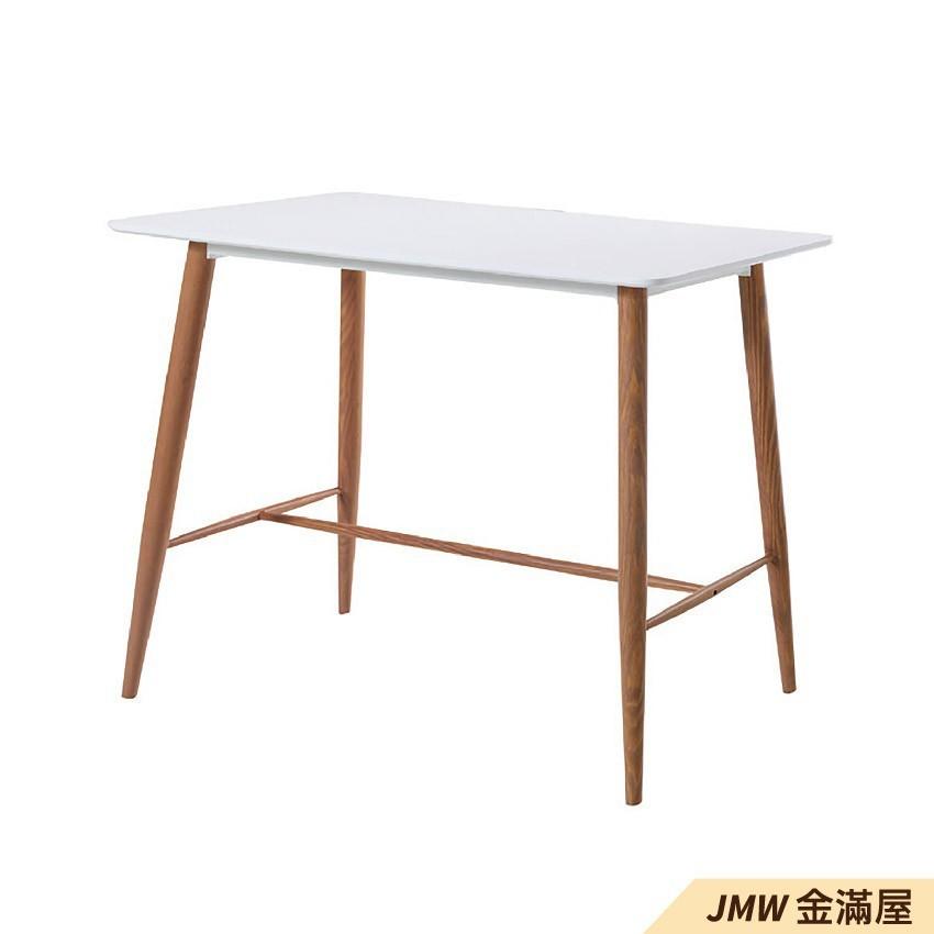 120cm餐桌 長型餐桌組 北歐大理石桌子 圓形桌 方形收納摺疊桌 餐桌椅組金滿屋q753-1
