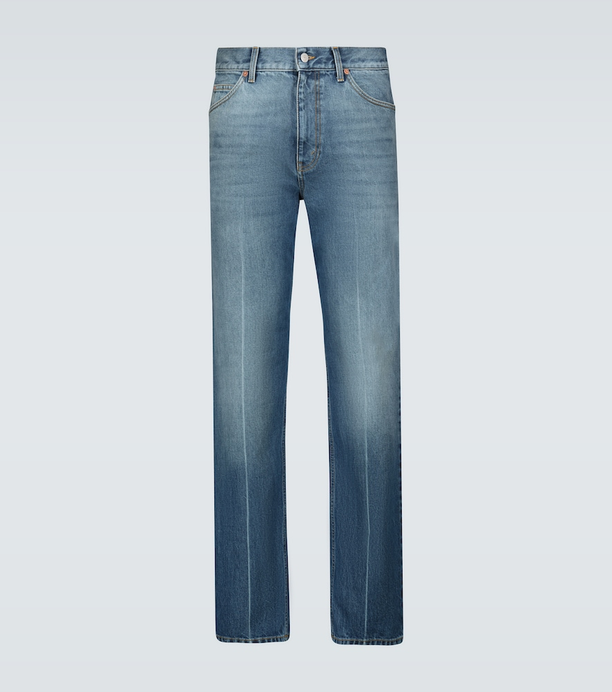 Straight-fit classic jeans
