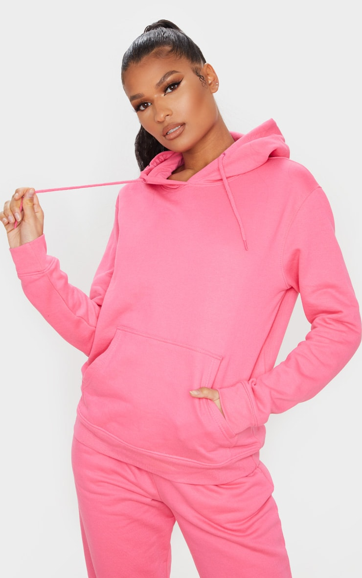 Candy Pink Ultimate Oversized Hoodie