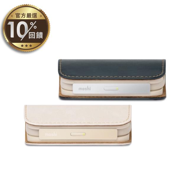 [moshi] IonGo 5K 帶線行動電源 (內建Lightning及USB-A充電線) 兩色任選【LINE 官方嚴選】