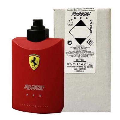 Ferrari 紅色法拉利男香 125ml-Tester包裝