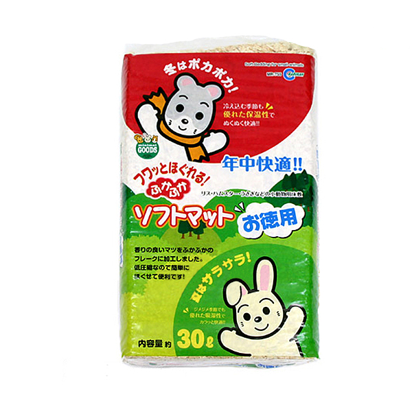 寵物家族-日本Marukan-天天舒適 鬆軟地毯 30L MK-MR-755