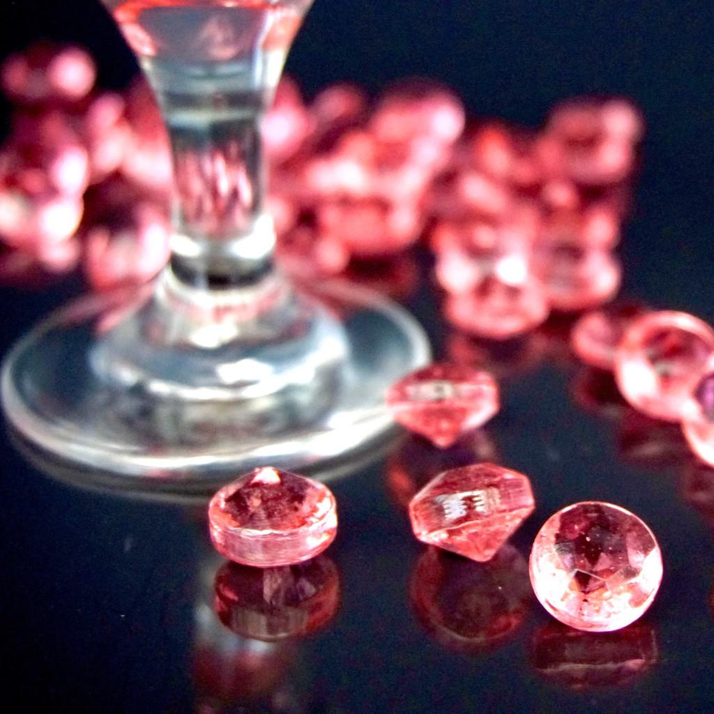 【嘴甜甜】鑽石糖-草莓 200公克 鑽石糖系列 水晶糖 八種口味 素食