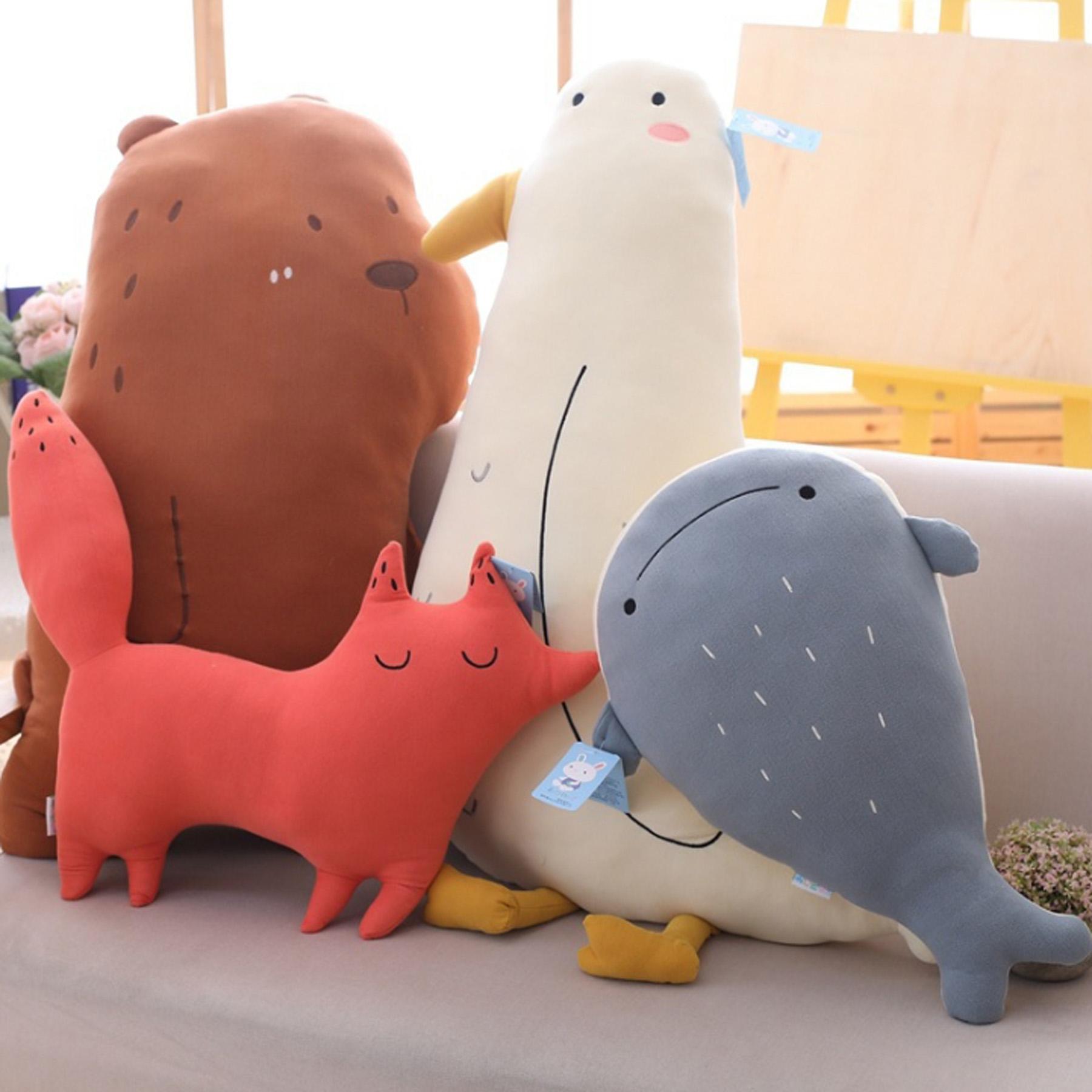 動物好朋友抱枕(四種角色可選)可愛爆表 超療癒【棉床本舖】