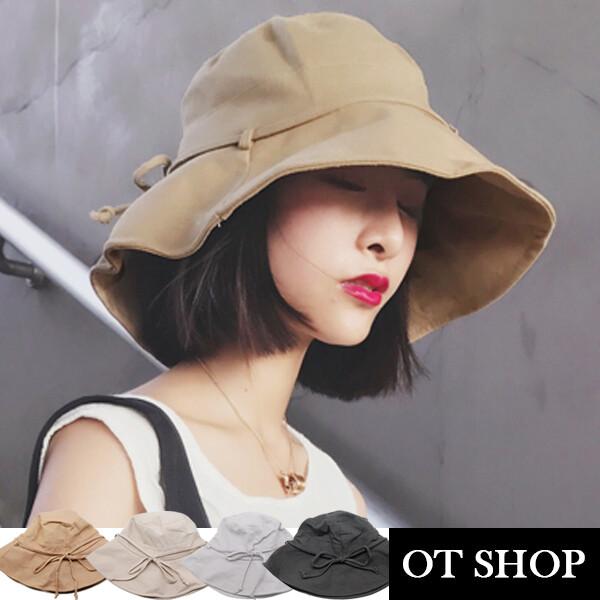 ot shop[現貨] 帽子 帽檐可調鐵絲 帽可折疊 遮陽帽 漁夫帽 盆帽  防曬 配件 c1974