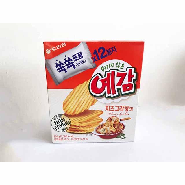 韓國 好麗友 馬鈴薯洋芋片 奶酪焗烤起司 洋芋片 204g