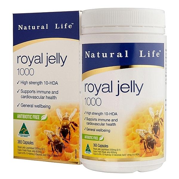澳洲頂級蜂王漿軟膠囊(365粒)【澳洲Natural Life】