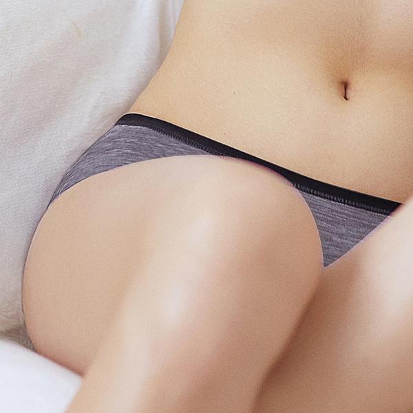 EASY SHOP-ㄅㄤ挺 中腰平口褲(優雅紫)