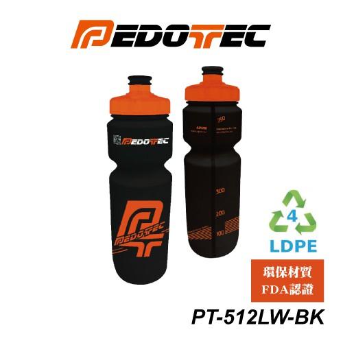 PEDOTEC 自行車水壺 LDPE 800cc PT-512LW-BK