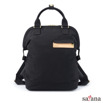 satana - Soldier 品生活後背包 - 黑色