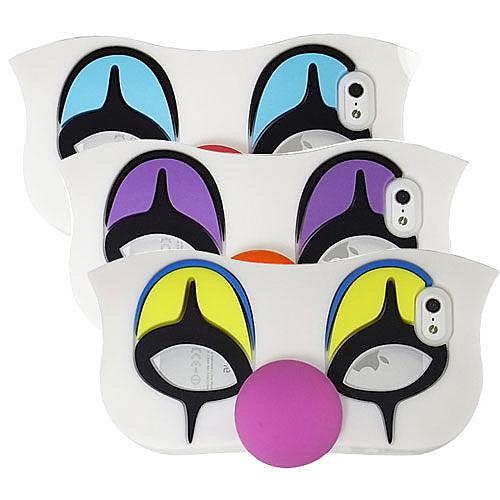 Candies iPhone SE/5/5s 馬戲團小丑 矽膠保護套