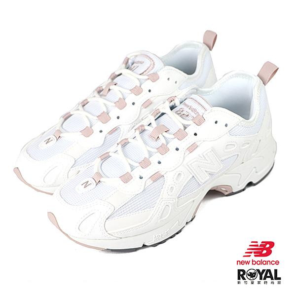 New balance 827 白色 網布 運動休閒鞋 女款 NO.J0489【新竹皇家 WL827BBC】