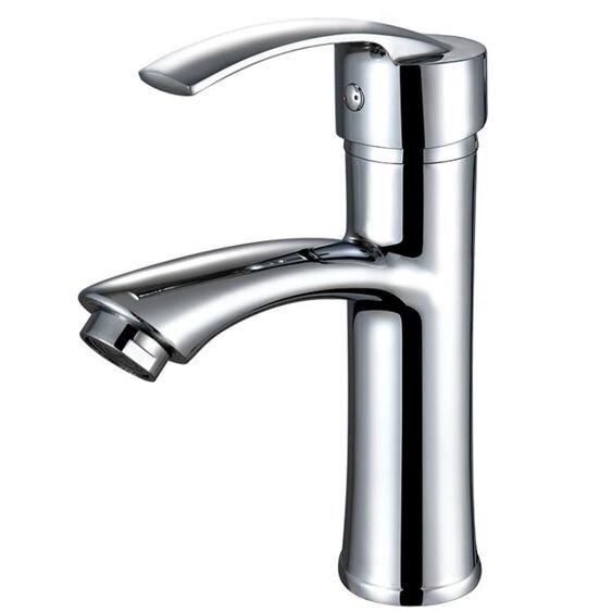 水龍頭九牧王洗手盆水龍頭冷熱水衛生間全銅面盆家用洗臉盆單冷水洗手間