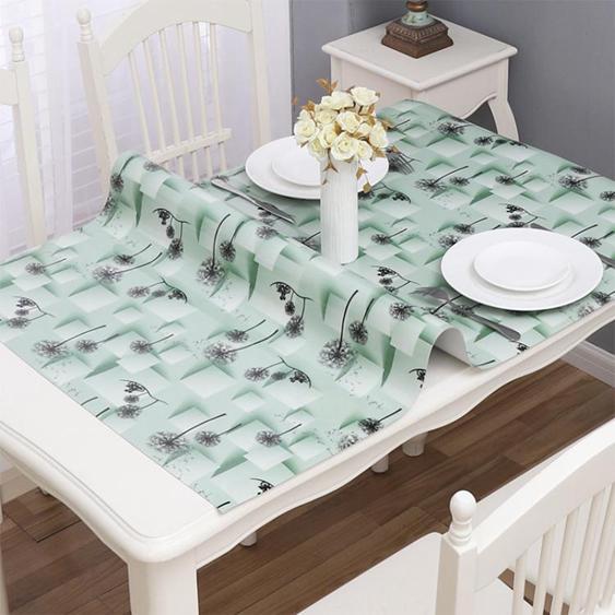 桌布防水防燙防油免洗餐桌墊塑料茶幾墊軟玻璃臺布桌巾