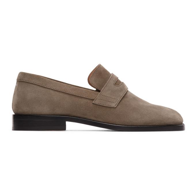Maison Margiela 灰色 Tabi Advocate 乐福鞋