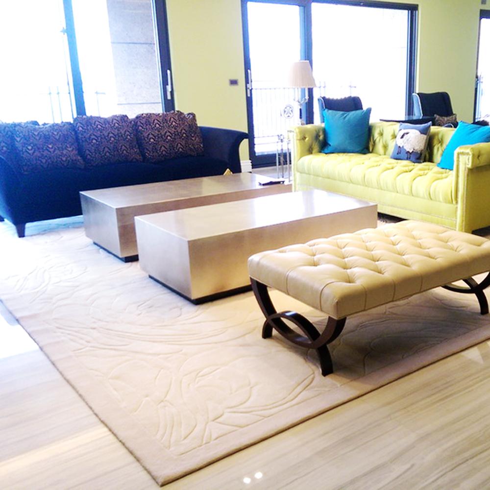 【山德力】羊毛手工片剪地毯-富貴170x240cm