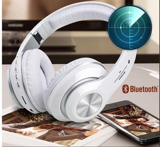 重低音藍牙耳機頭戴式無線游戲運動跑步插卡音樂耳麥手機電腦通用可接聽