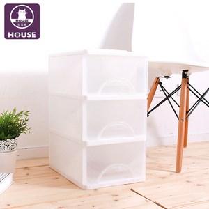 【HOUSE】白色小方塊三層收納櫃27L