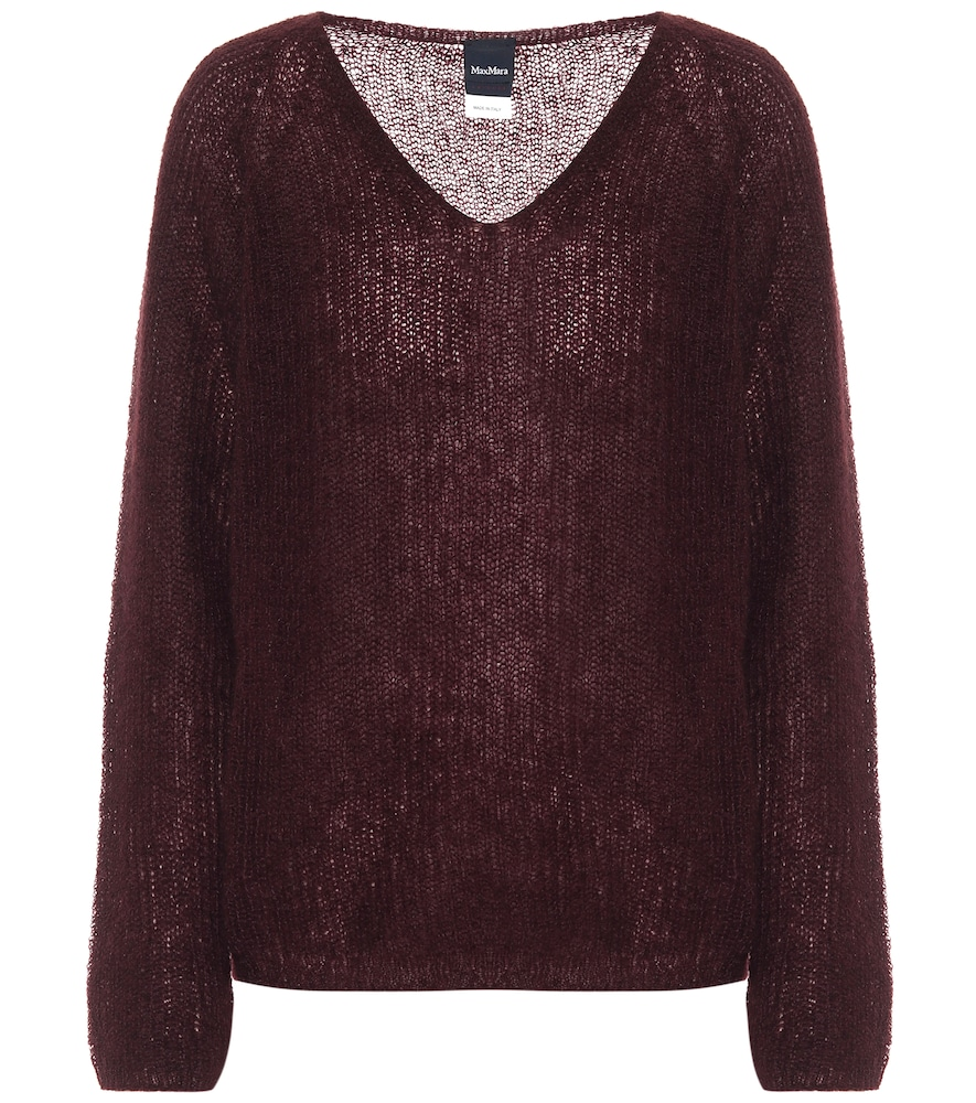 Tulipe wool and cashmere sweater