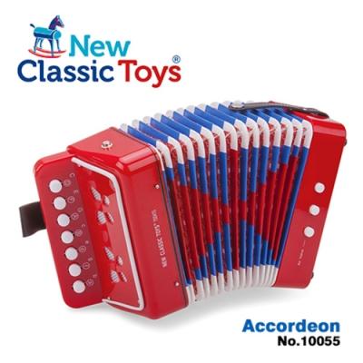 【荷蘭New Classic Toys】幼兒手風琴玩具 (兩色可選)