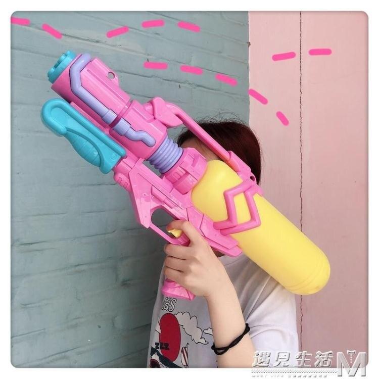 超大號水槍成人大童男女兒童玩具呲滋大容量噴水2000ML潑水節高壓   七色堇 元旦 交換禮物