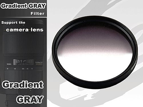 EGE 一番購】數位相機專用 GC GRAY 環型漸層灰鏡 可轉動旋轉【55mm】