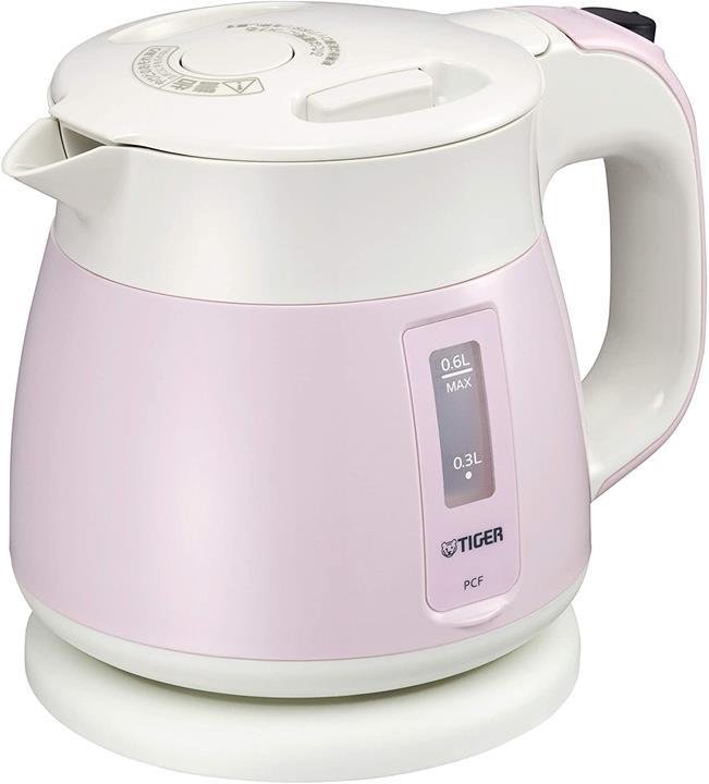 【日本代購】TIGER 虎牌 電熱水壺 800毫升 白色 PCF-G080-W