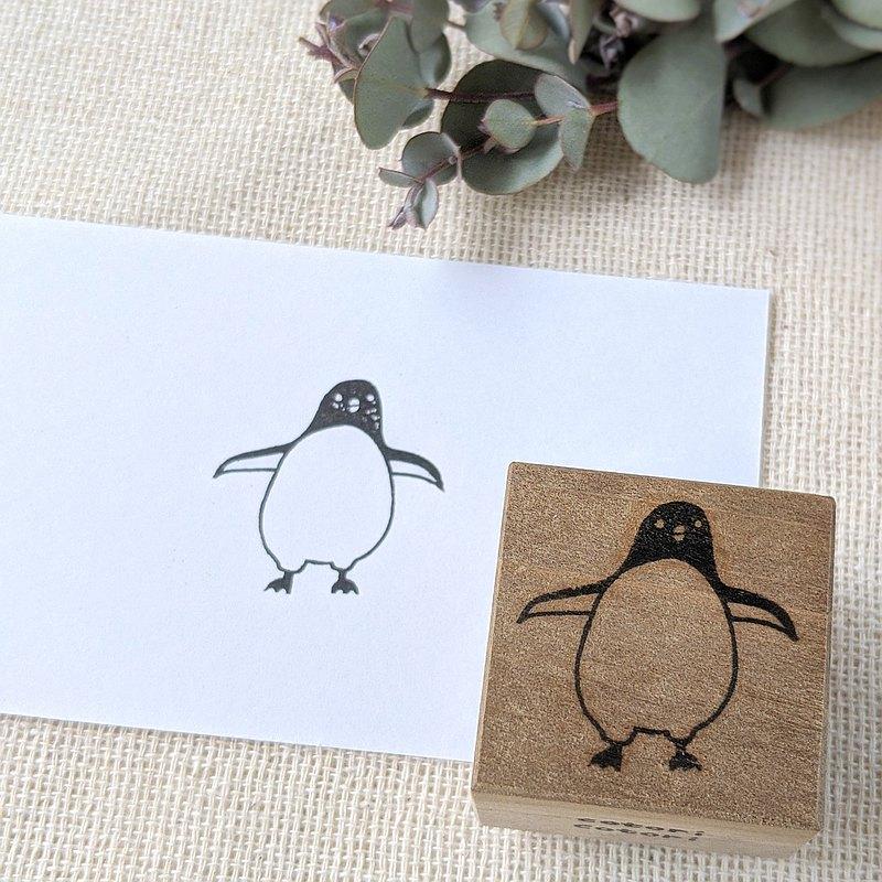 橡皮圖章企鵝