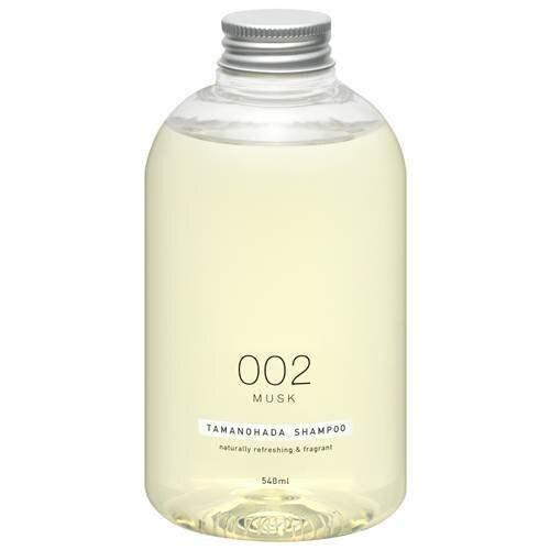 日本【玉肌】無矽精油洗髮精540ml-002麝香
