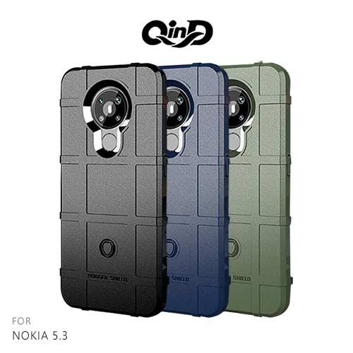 QinD NOKIA 5.3 戰術護盾保護套
