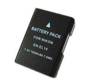 NIKON 副廠鋰電池 EN-EL14 ENEL14 相容原廠電池