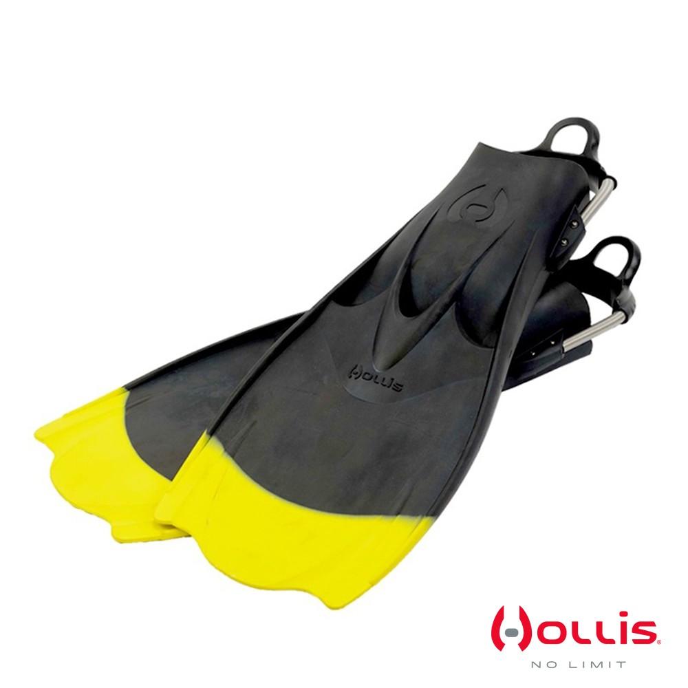 HOLLIS F1- Bat Fin YELLOW TIP 蛙鞋