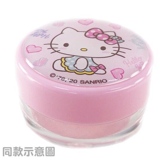 【領券折$30】小禮堂 Hello Kitty 圓形塑膠乳液盒組 旅行空盒 透明分裝盒 10g (2入 白 眨眼)