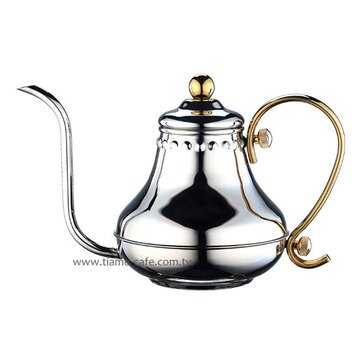 金時代書香咖啡  TIAMO 極細口徑 7mm 新款壺嘴細口壺 420ml 適用1-3人份 (杯份)  HA8561